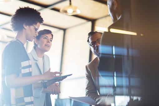 Business people having meeting - gettyimageskorea