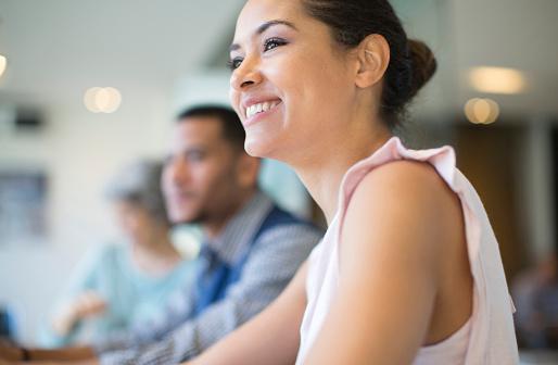 Business people in a meeting - gettyimageskorea