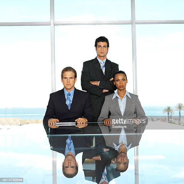 business people in conference room - aggression stock pictures, royalty-free photos & images