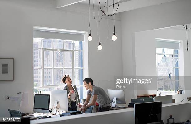 Business people in creative office