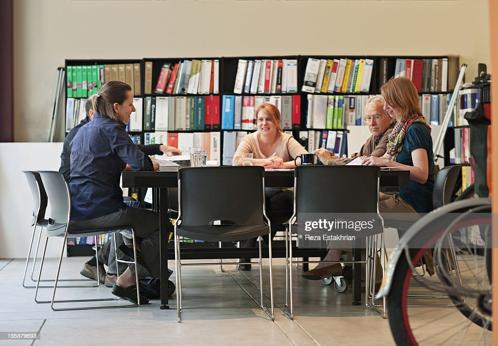 Business people in meeting : Stock Photo
