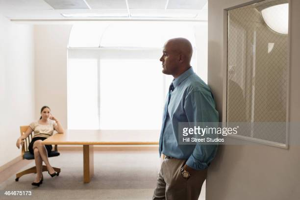 business people in office - tensed idaho stock photos and pictures