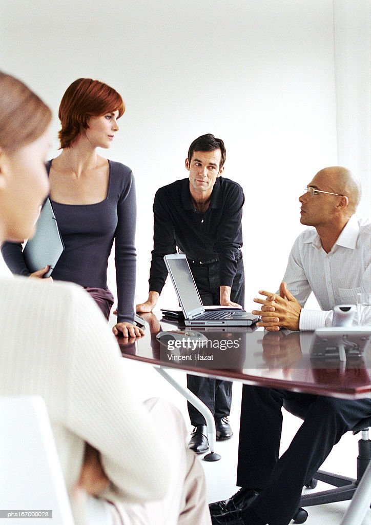 Business people in office : Stockfoto
