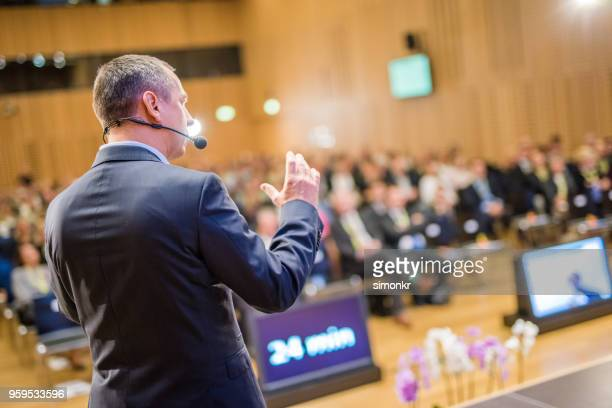 business people in seminar at auditorium - part of a series stock pictures, royalty-free photos & images