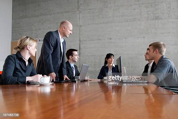 Geschäftsleute in team-Meetings