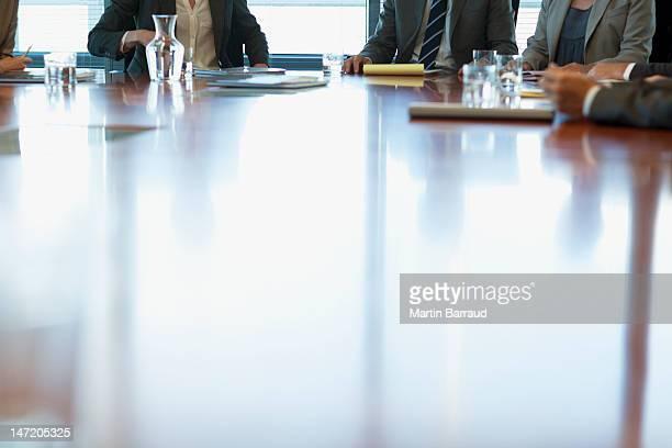Geschäftsleute Treffen am Tisch im Konferenzraum