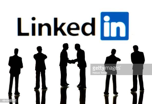 Gens d'affaires sur LinkedIn