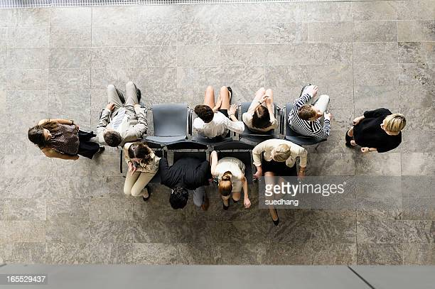 business people playing musical chairs - opportunity stock pictures, royalty-free photos & images