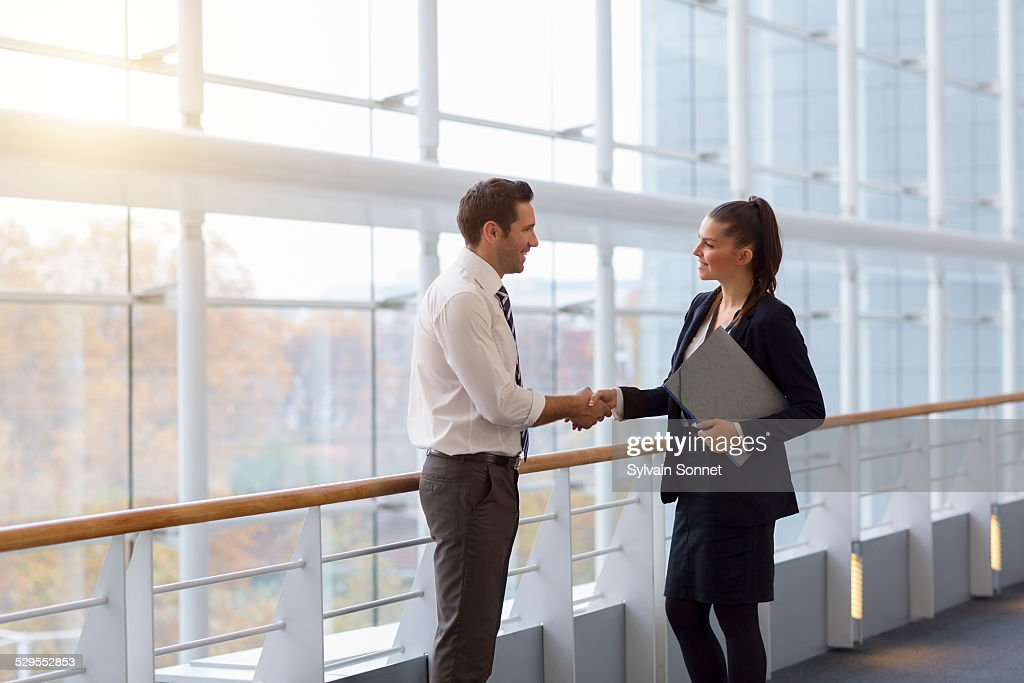 Business people shaking hands. : Stock-Foto