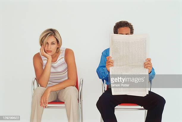 Uomini d'affari seduto insieme
