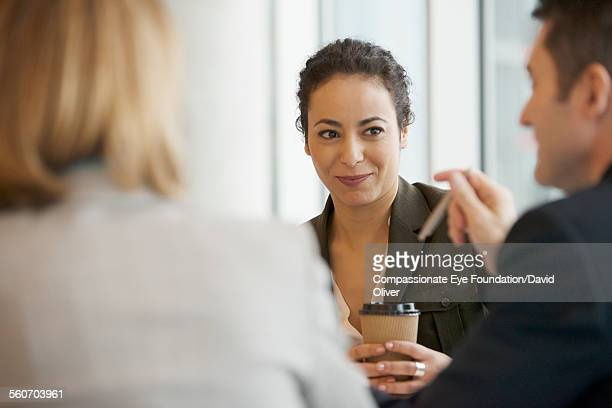 business people talking in cafe - cef do not delete stock pictures, royalty-free photos & images