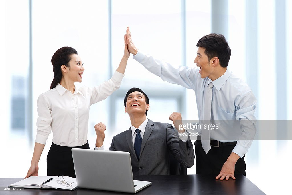Business people together : Stock Photo