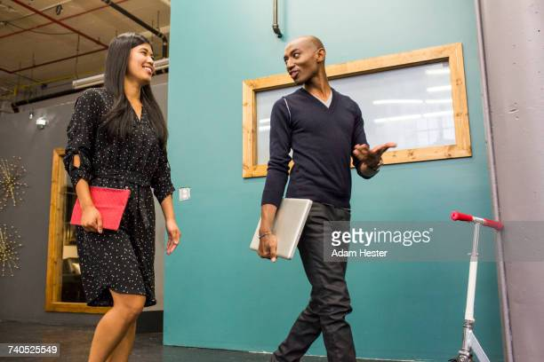 business people walking and talking - black transgender stock pictures, royalty-free photos & images