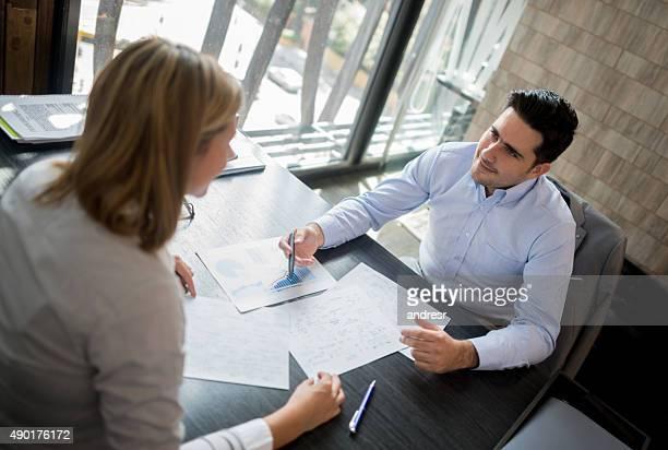 Business Menschen arbeiten im Büro