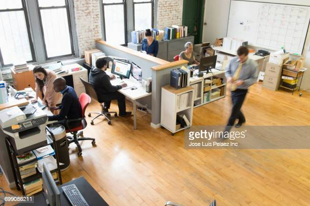 business people working in office - routine stock pictures, royalty-free photos & images