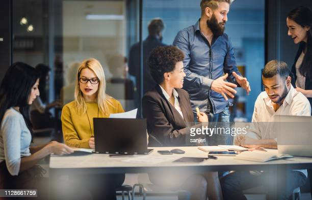 business people working in the office - verdict stock pictures, royalty-free photos & images