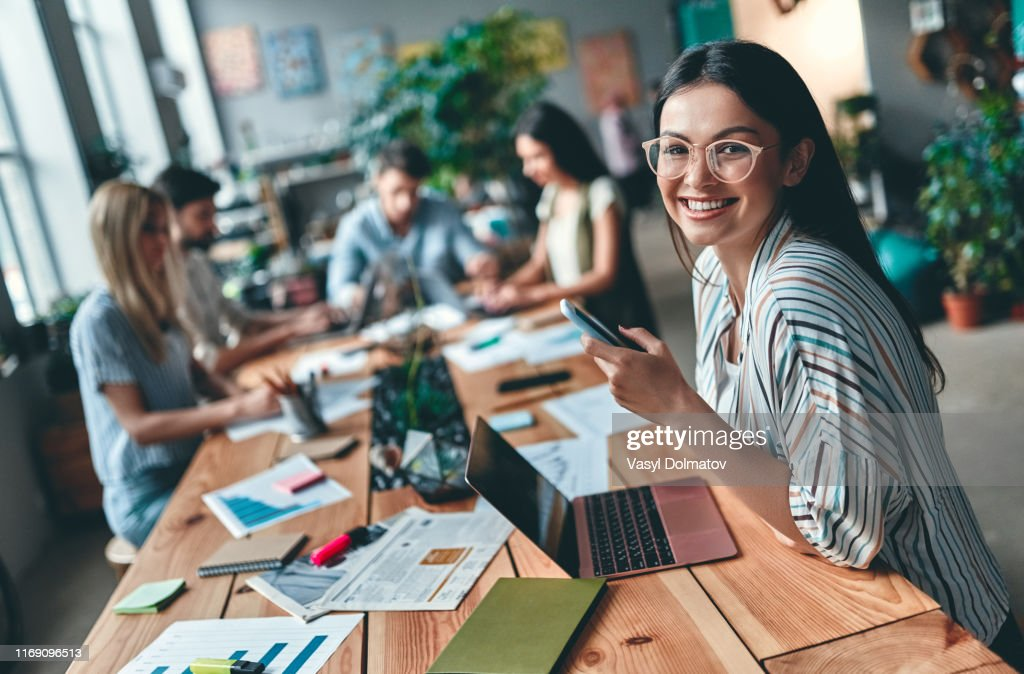 Business people working : Stock Photo