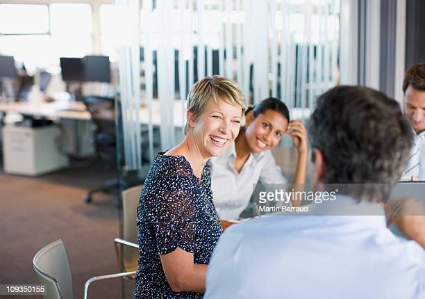 business people working together in conference room - colleague stock pictures, royalty-free photos & images