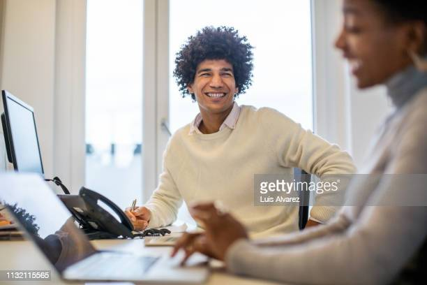 business people working together in office - natural phenomena stock pictures, royalty-free photos & images
