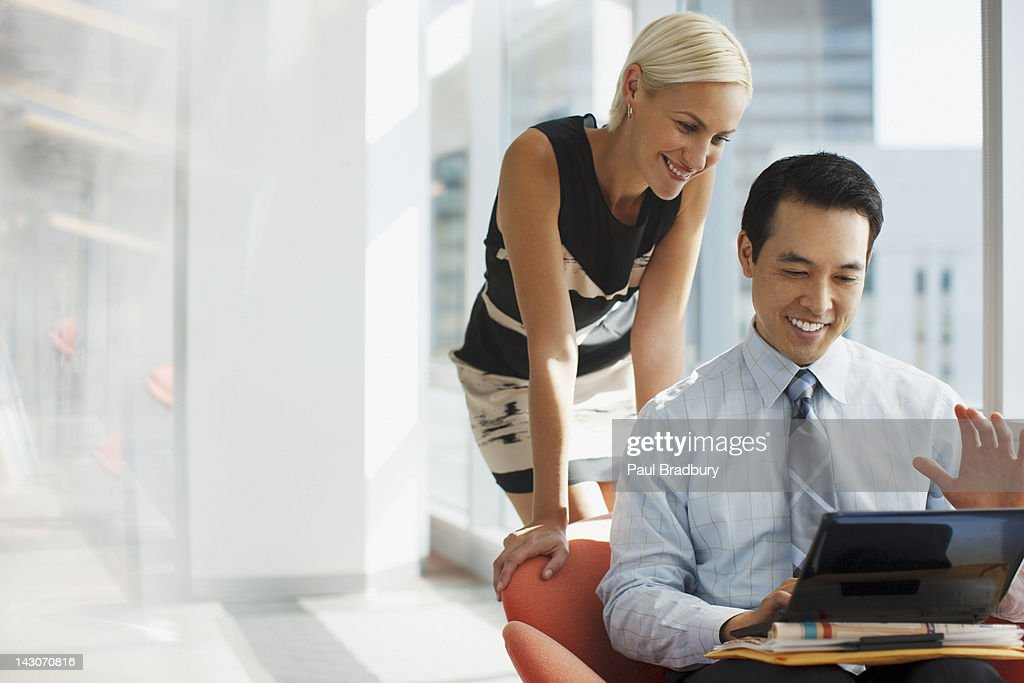 Business people working together in office : Stock Photo