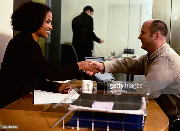 business person in a Handshake