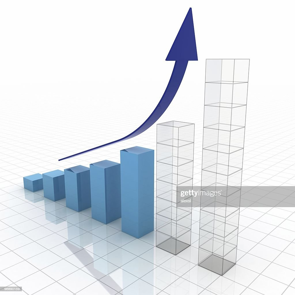 business plan graph stock photo getty images