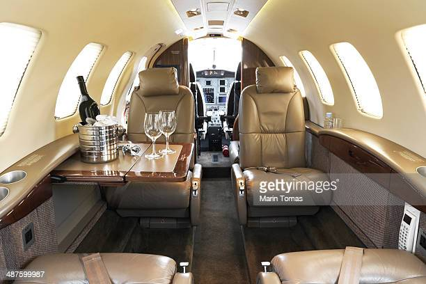 Business plane interior