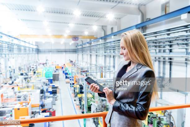 Business planning in factory