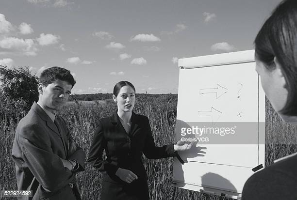 Business Presentation in the Country