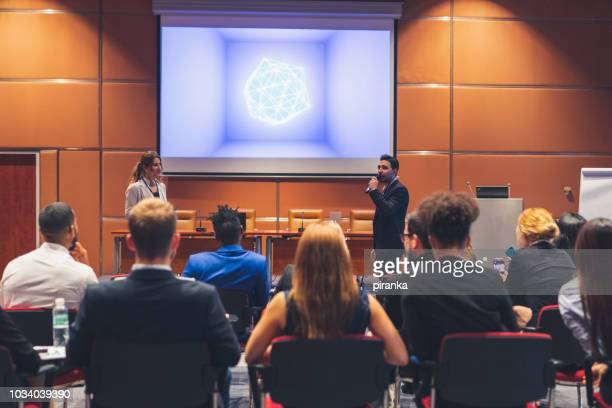 business presentation - presenter stock pictures, royalty-free photos & images
