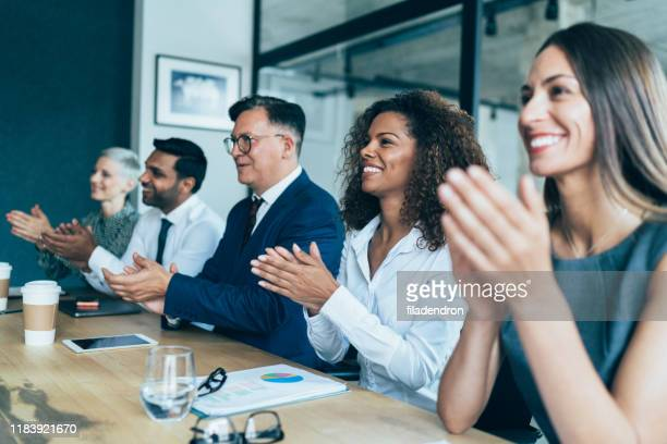 business presentation - admiration stock pictures, royalty-free photos & images
