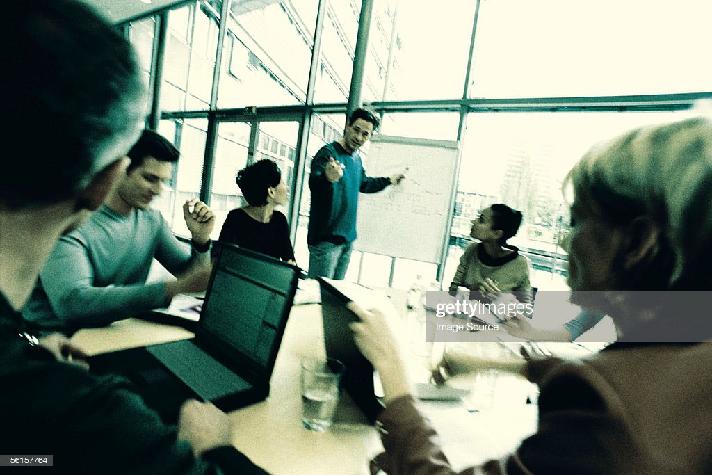 Business presentation : Stock Photo