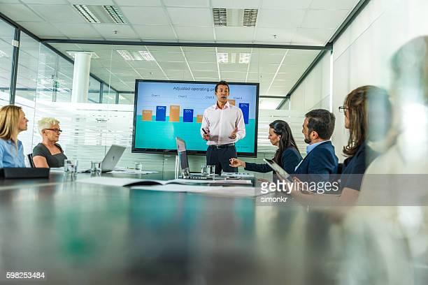 Business-Präsentation