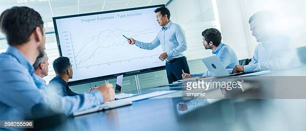business presentation - comparison stock pictures, royalty-free photos & images