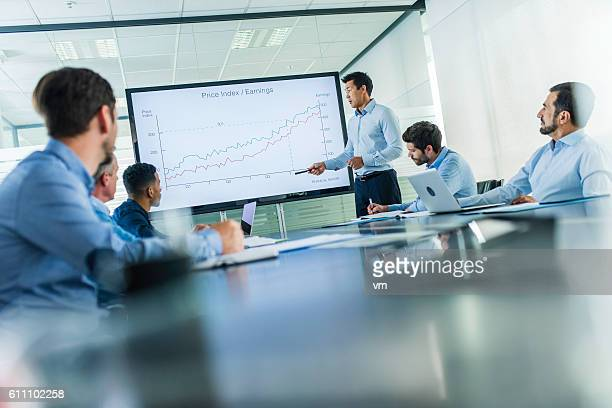 business presentation - finance and economy stock pictures, royalty-free photos & images