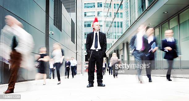 business punk - opstand stockfoto's en -beelden