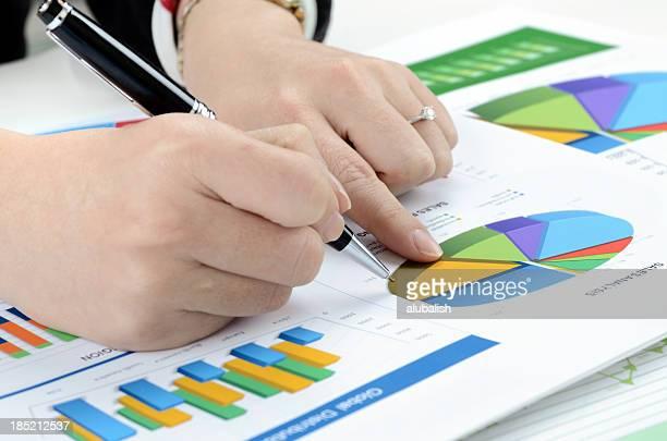 Relatório empresarial