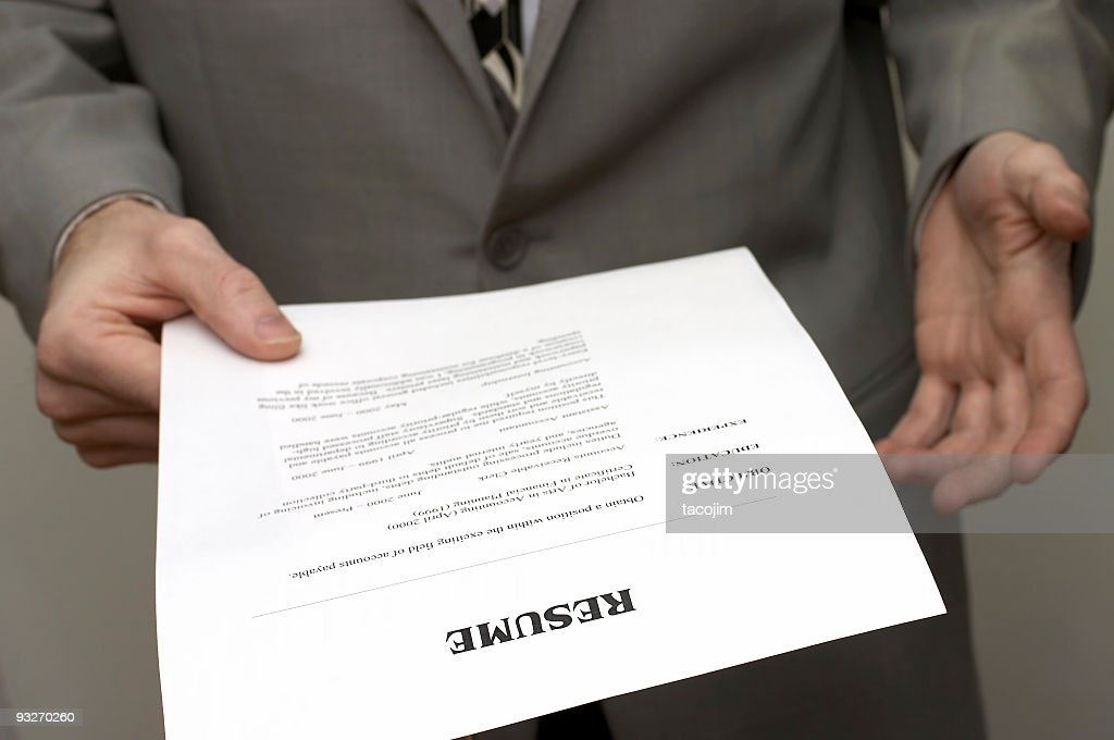 Business Resume #1 : Stock Photo