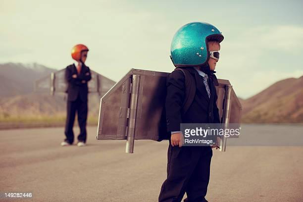 Business Rocket Boys