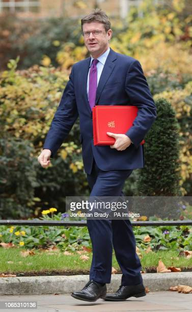 Business Secretary Greg Clark arrives in Downing Street in London for a meeting of the Cabinet