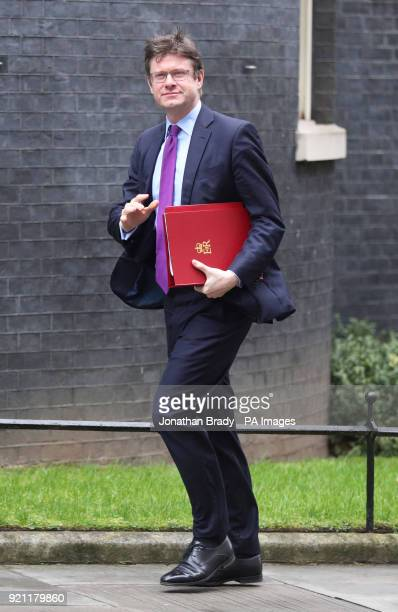 Business Secretary Greg Clark arriving at 10 Downing Street London for a Cabinet meeting