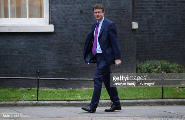 Business Secretary Greg Clark arriving in Downing Street London for a Cabinet meeting