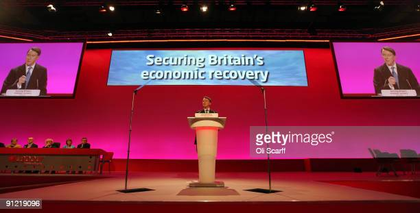 Business Secretary Lord Mandelson delivers his speech to the Labour Party Conference on September 28 2009 in Brighton England Lord Mandelson has...