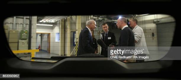Business Secretary Vince Cable during a visit to Ford Technical Centre at Dunton Essex after Mr Cable announced that projects that will put Formula 1...