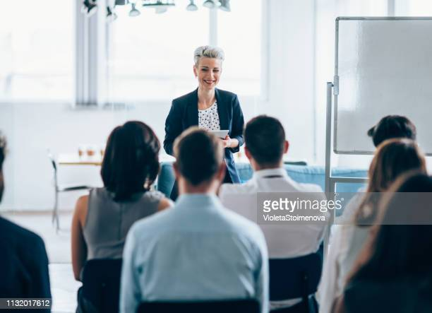 business seminar - presentation stock pictures, royalty-free photos & images