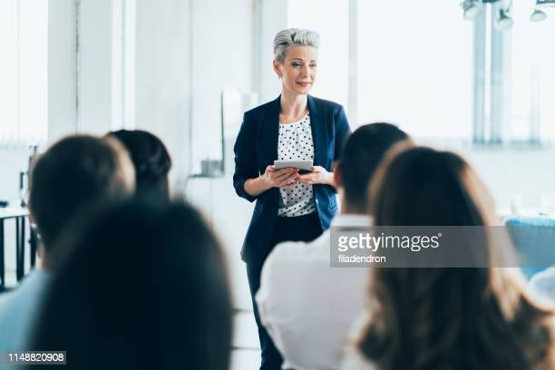 business seminar - authority stock pictures, royalty-free photos & images