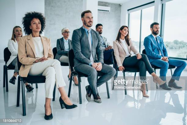 business seminar - audience stock pictures, royalty-free photos & images