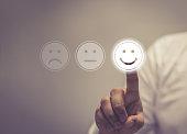 Business Service Satisfaction concept