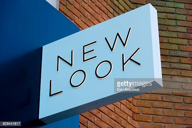 Business Shops Shopping New Look high street fashion clothing shop sign