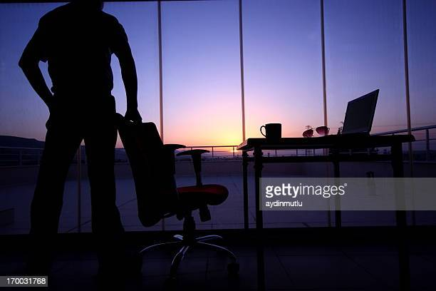 business silhouette - chairperson stock pictures, royalty-free photos & images